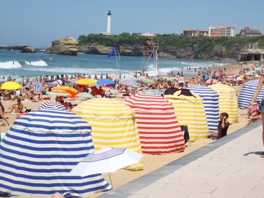Phare plage Biarritz